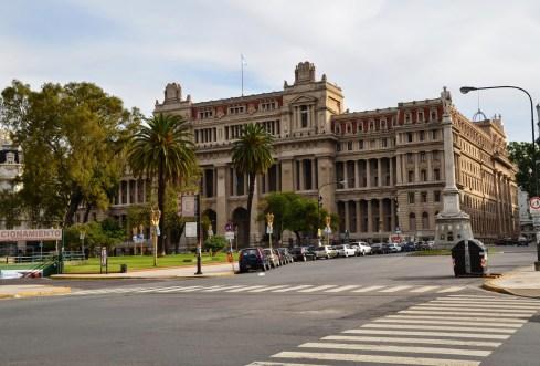 Palacio de Justicia in Buenos Aires, Argentina
