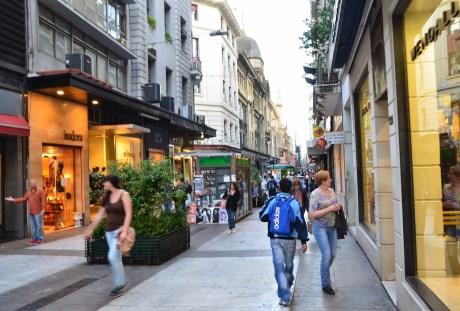 Calle Florida in Retiro, Buenos Aires, Argentina