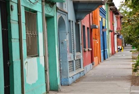 Avenida Gay in Barrio República, Santiago de Chile