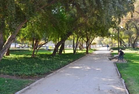 Parque Balmaceda in Santiago de Chile