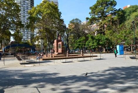 Plaza Belgrano in Belgrano, Buenos Aires, Argentina