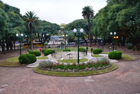Plaza Mitre in San Isidro, Argentina