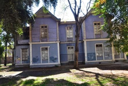 Casa Obrecht at Parque Quinta Normal in Santiago de Chile