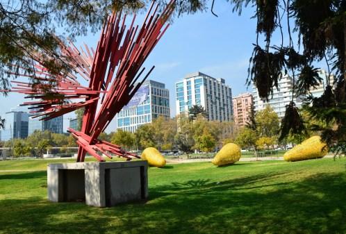 Parque de Las Esculturas in Santiago de Chile