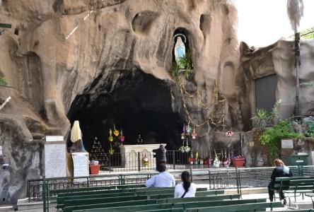 Gruta de Lourdes in Santiago de Chile