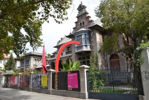 Museo de la Solidaridad in Barrio República, Santiago de Chile