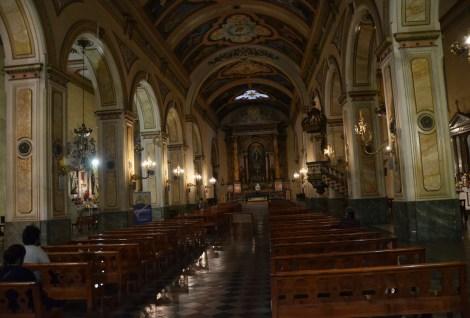 Iglesia de San Agustín in Santiago de Chile