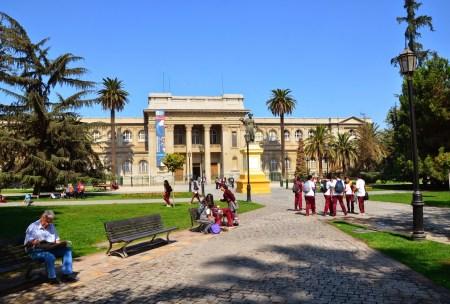 Museo de História Natural at Parque Quinta Normal in Santiago de Chile