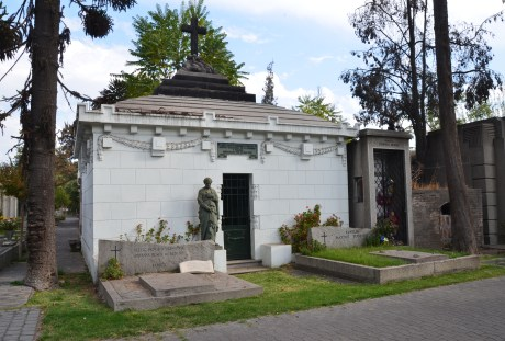 Cementerio General in Santiago de Chile