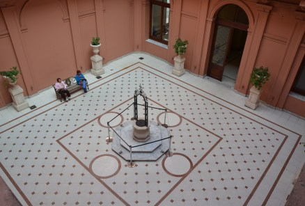 Patio del Aljibe at Casa Rosada on Plaza de Mayo in Buenos Aires, Argentina