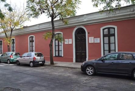 Casa Ignacio Domeyko in Barrio Yungay, Santiago de Chile