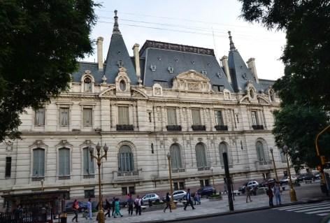 Palacio Paz in Retiro, Buenos Aires, Argentina
