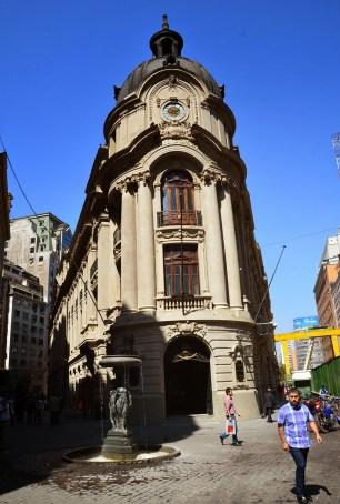 Bolsa de Comercio in Santiago de Chile