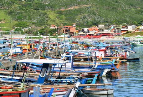 Harbor in Arraial do Cabo, Brazil