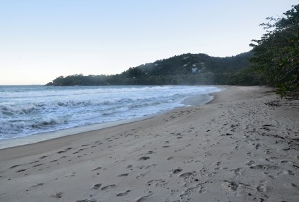 Praia do Félix in Ubatuba, Brazil