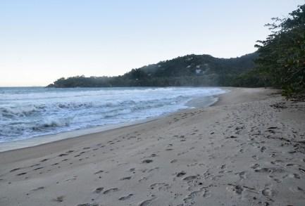 Praia do Félix in Ubatuba, Brazil