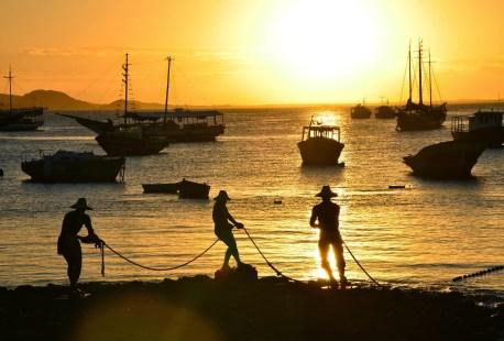 Três Pescadores in Búzios, Brazil