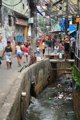 Lower Rocinha at Rocinha favela, Rio de Janeiro, Brazil