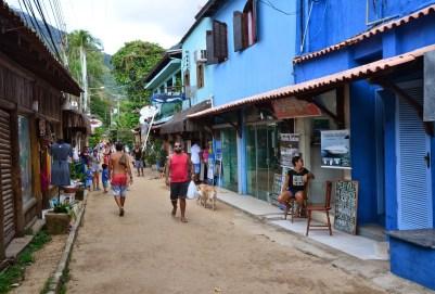 Vila do Abraão, Ilha Grande, Brazil