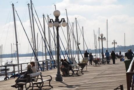 Old pier in Colonia del Sacramento, Uruguay