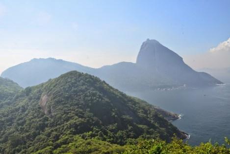 View of Pão de Açúcar from Forte Duque de Caxias in Rio de Janeiro, Brazil