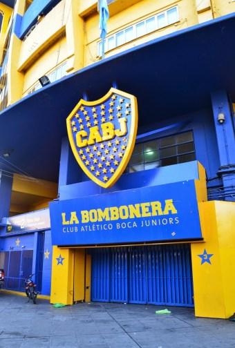 La Bombonera in La Boca, Buenos Aires, Argentina