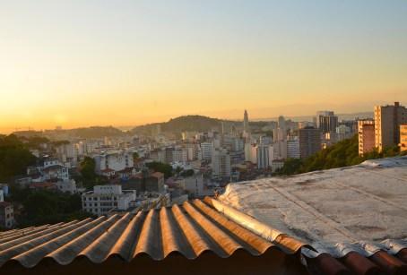 View from Santa Teresa in Rio de Janeiro, Brazil