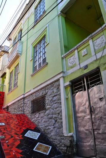 Selarón's house in Rio de Janeiro, Brazil