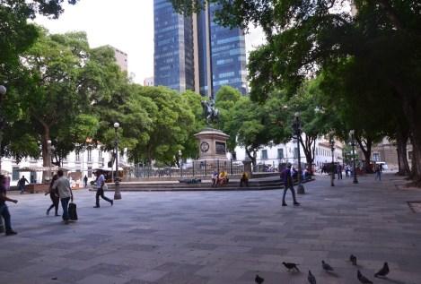 Praça XV in Rio de Janeiro, Brazil