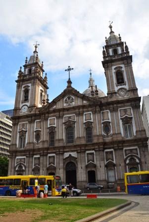 Nossa Senhora da Candelária in Rio de Janeiro, Brazil