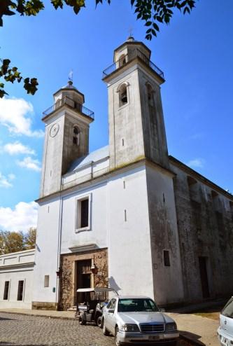 Basílica del Santísimo Sacramento in Colonia del Sacramento, Uruguay
