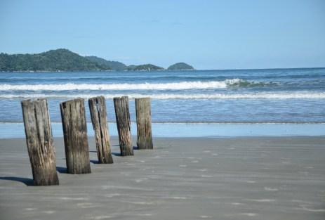 Praia da Fazenda in Ubatuba, Brazil