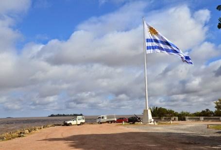 Paseo de San Gabriel in Colonia del Sacramento, Uruguay