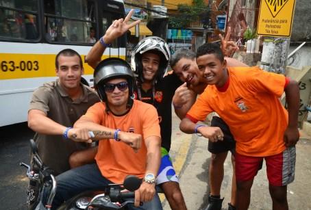 Eu Amo Rocinha! at Rocinha favela, Rio de Janeiro, Brazil