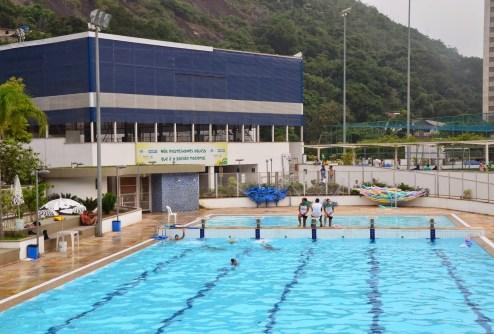 Rocinha Pool at Rocinha favela, Rio de Janeiro, Brazil