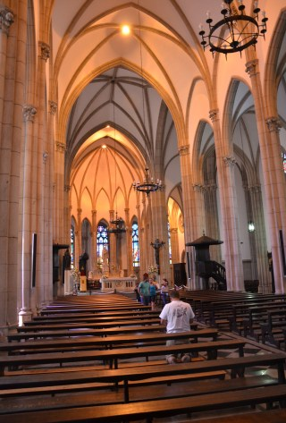 Catedral de São Pedro de Alcântara in Petrópolis, Brazil