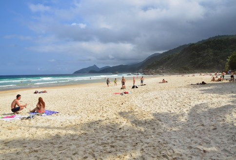 Praia Lopes Mendes, Ilha Grande, Brazil