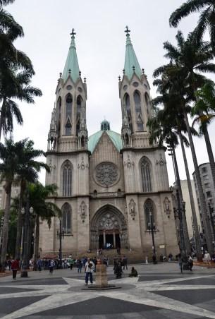Catedral Metropolitana in São Paulo, Brazil