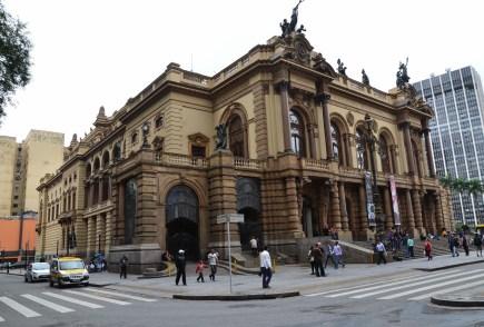 Theatro Municipal in São Paulo, Brazil