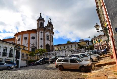 Nossa Senhora do Rosário in Ouro Preto, Brazil