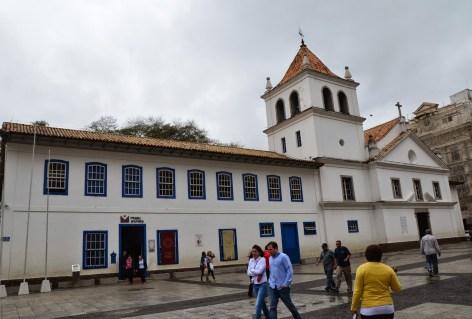 Pátio do Colégio in São Paulo, Brazil