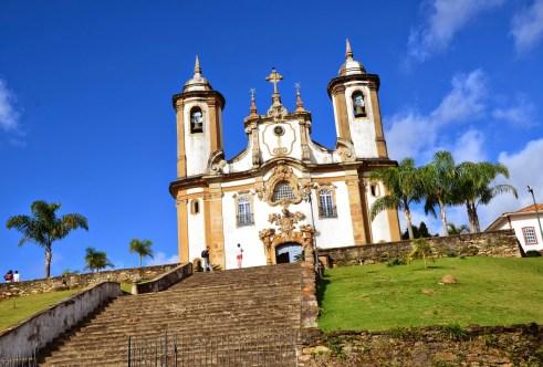 Nossa Senhora do Carmo in Ouro Preto, Brazil