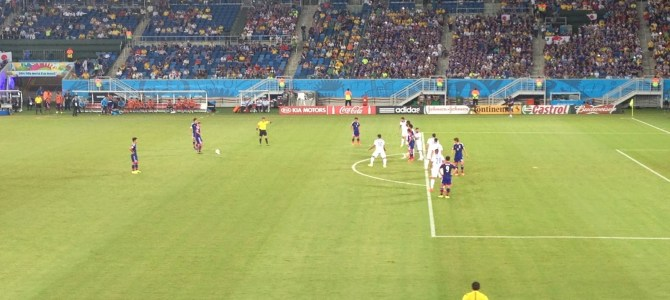 World Cup 2014: Day 7 (Greece vs Japan)