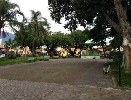 Praça Major João Fernandes in São Sebastião, Brazil