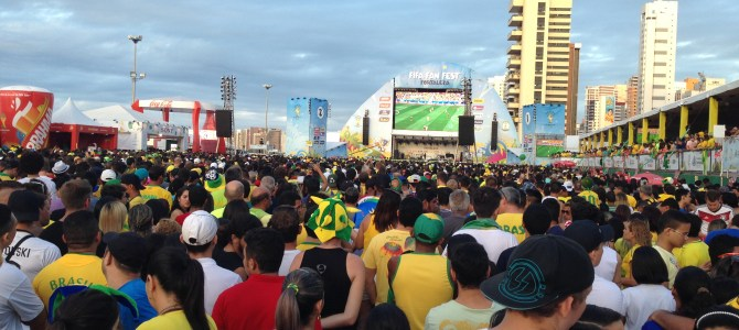 World Cup 2014: Day 11 (Arrival in Fortaleza)