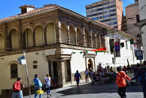 Museo Nacional de Arte in La Paz, Bolivia