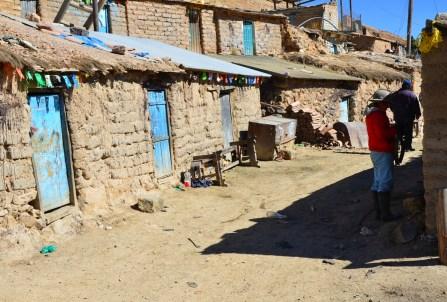 Shacks at Mina Santa Elena, Cerro Rico, Potosí, Bolivia