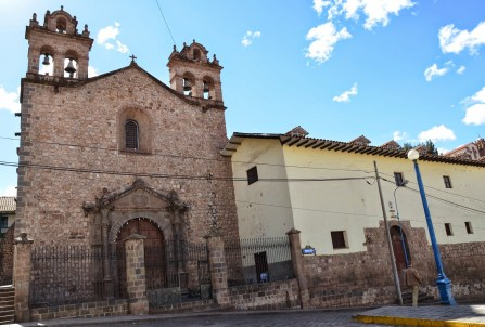 Iglesia de Santa Teresa in Cusco, Peru