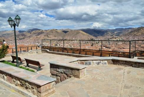 Mirador de San Blas in San Blas, Cusco, Peru