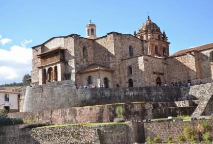 Qorikancha and Iglesia de Santo Domingo in Cusco, Peru